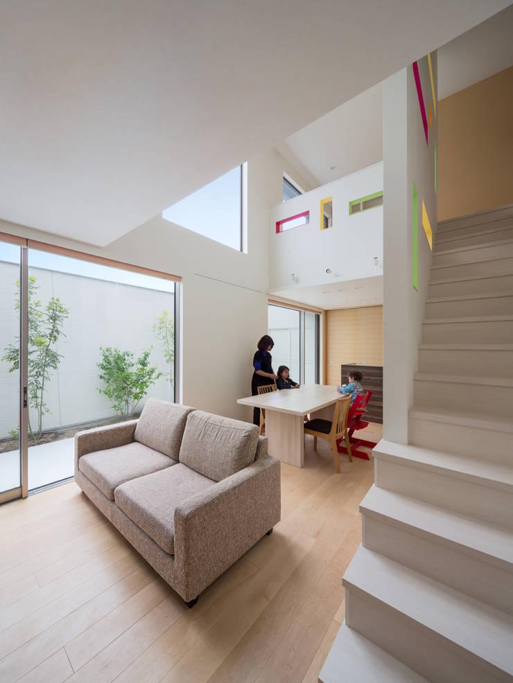 H-house「走り回る家」: Architect Show co.,Ltdが手掛けたです。,