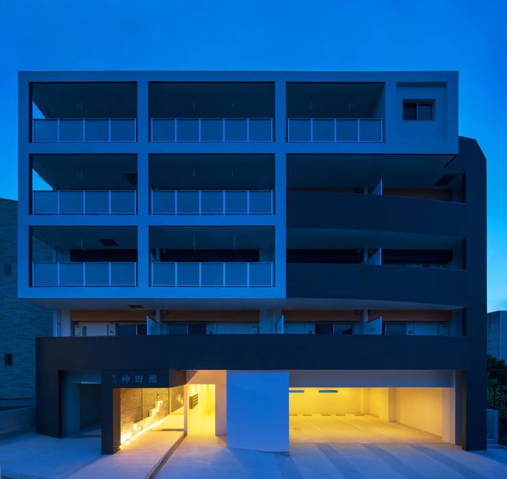 M-B.L.D「曲線と直線の家」: Architect Show co.,Ltdが手掛けたです。