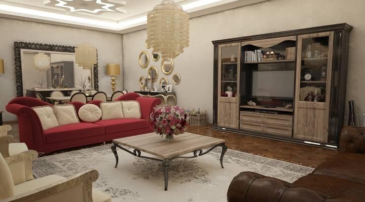 Sonmez Mobilya Avantgarde Boutique Modoko – Domiklasik Salon Projesi / Özel:  tarz Oturma Odası, Klasik