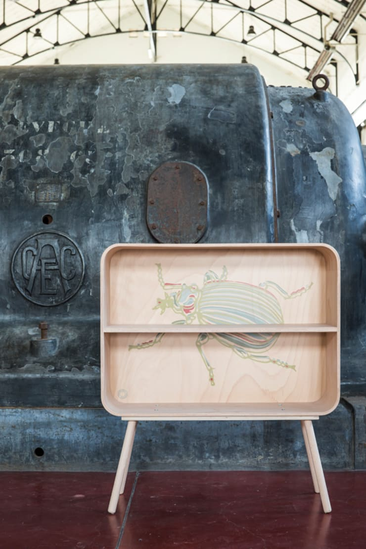 tonton television scarabee:  Woonkamer door eva craenhals