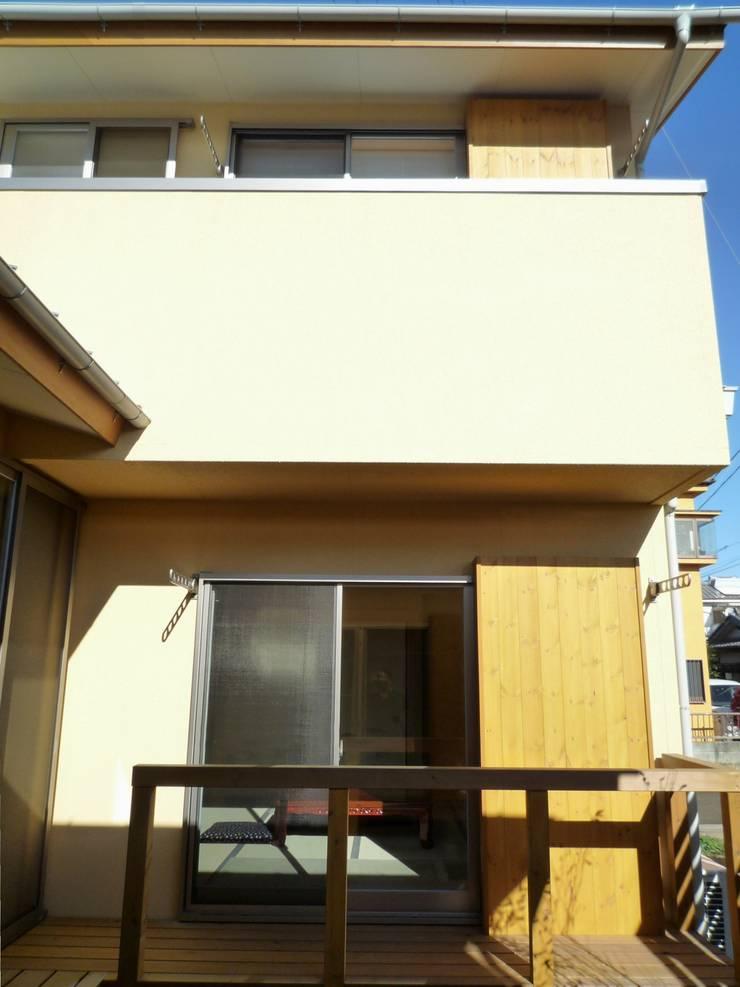 中庭: 石井設計事務所/Ishii Design Office が手掛けた家です。