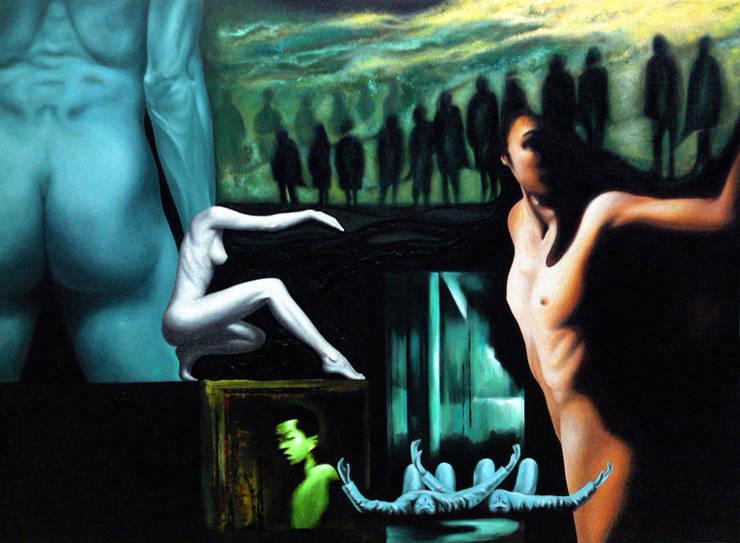 Mirage of Consciousness  (의식의 신기루): JEONG-AH  ZHANG   장정아의  거실,모던