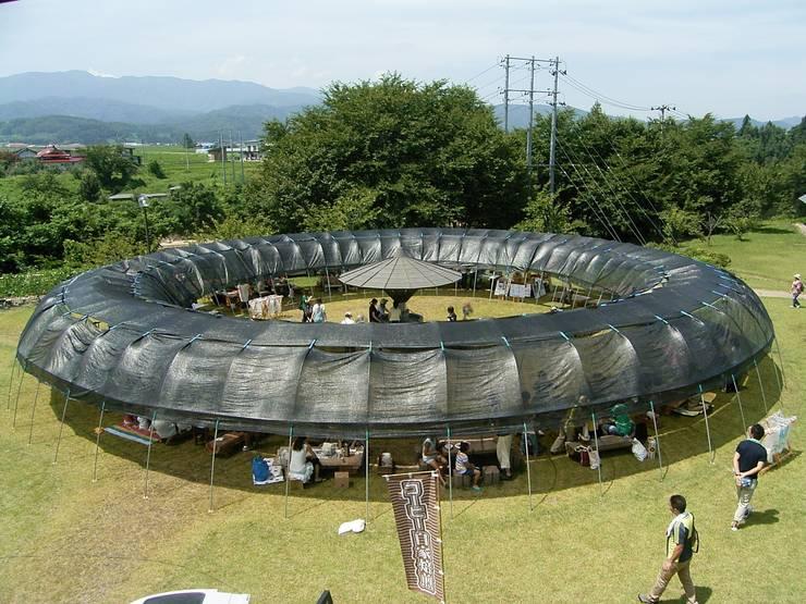 俯瞰: 井上貴詞建築設計事務所が手掛けたイベント会場です。