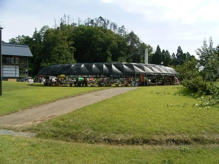 周辺環境: 井上貴詞建築設計事務所が手掛けたイベント会場です。