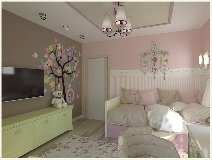 Kinderzimmer für Mädchen:  Kinderzimmer von NK-Line I Natascha Kuzmenko I Modernes Interior Design