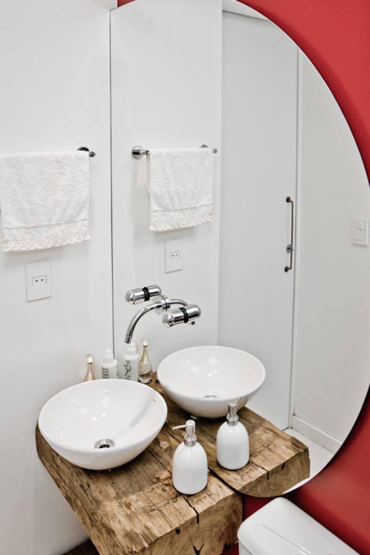 APP   Lavabo Banheiros modernos por Kali Arquitetura Moderno