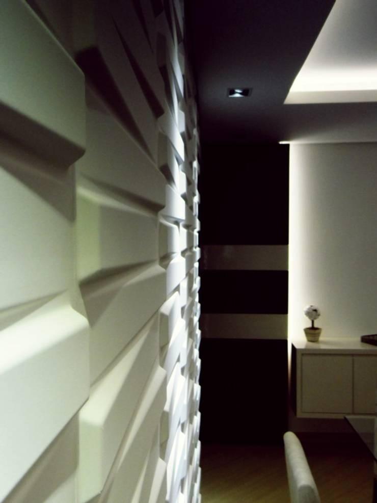 apartamento N+R: Sala de jantar  por SPOT161 arquitetura + design,