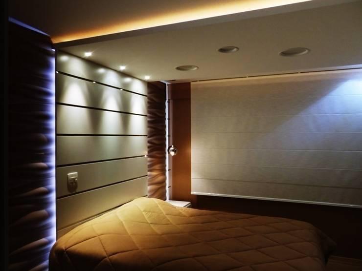 apartamento N+R: Quarto  por SPOT161 arquitetura + design