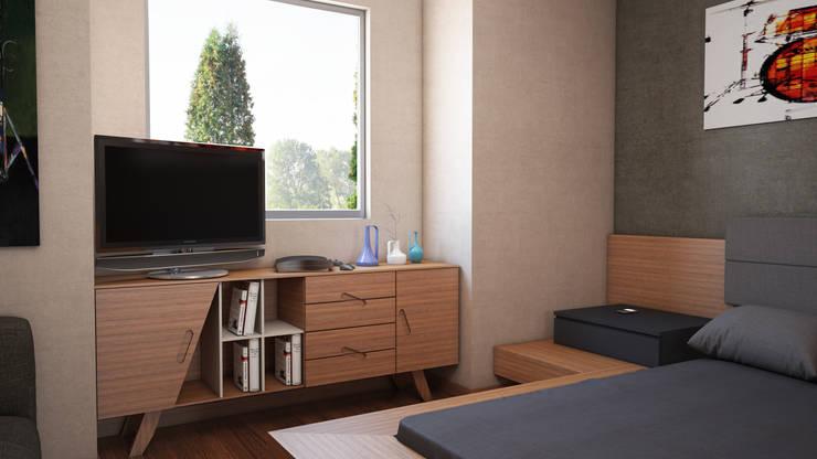 Modern style bedroom by FARGO DESIGNS Modern
