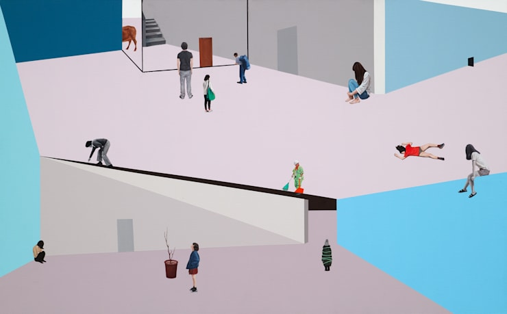 의식의 흐름: artist bomin의