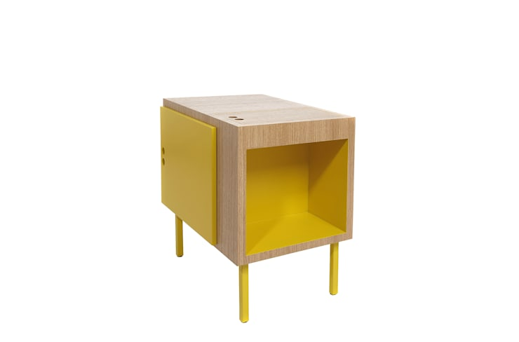 Mesilla de noche - Las Mil y Una Noches - color amarillo: Hogar de estilo  de Chez D&C design