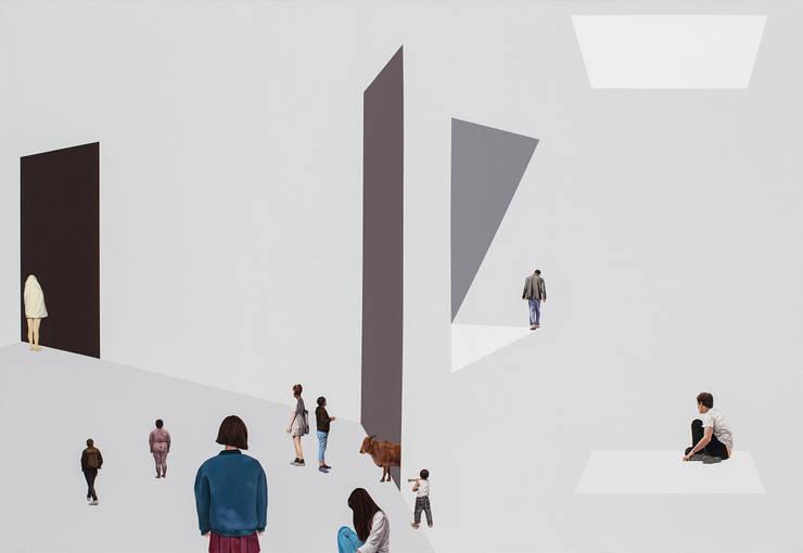 사라지는, 사라지지않는: artist bomin의