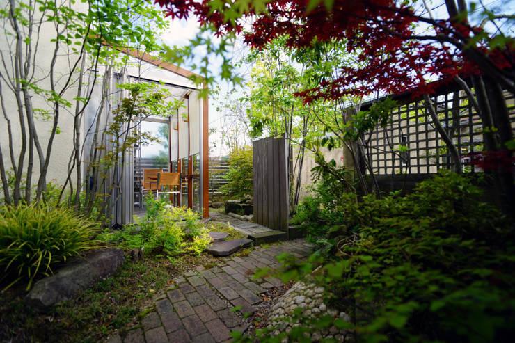 Projekty,  Ogród zaprojektowane przez にわいろSTYLE