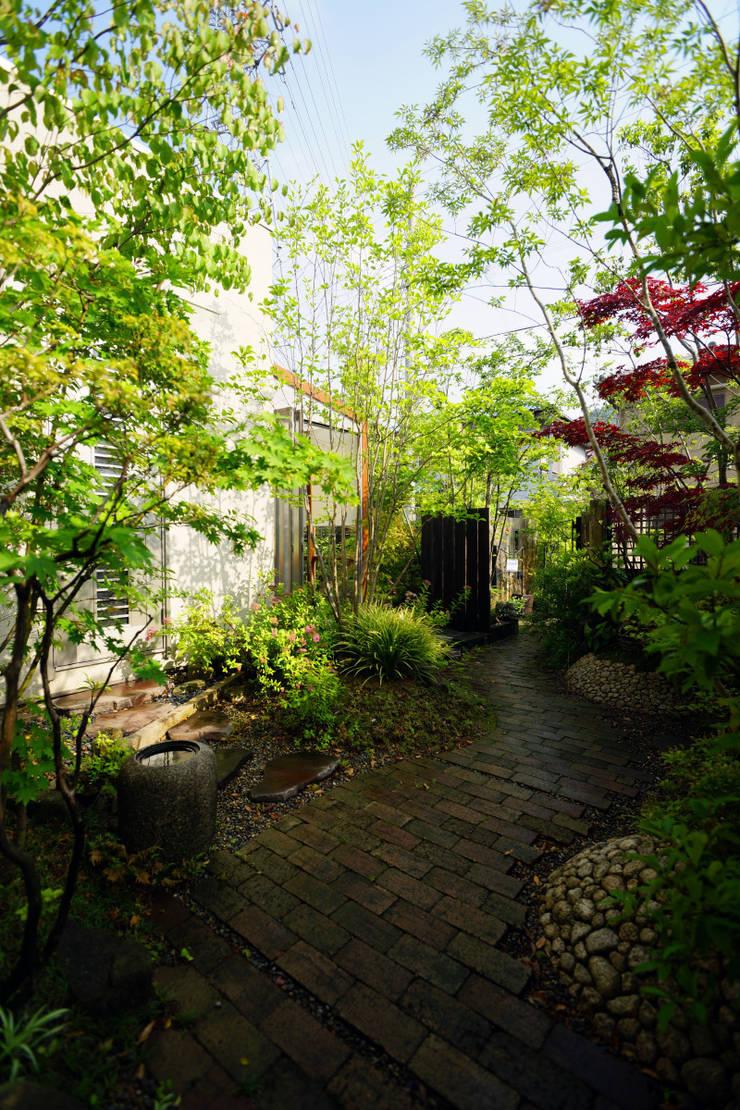 枝葉とびかう創作の庭 2007~: にわいろSTYLEが手掛けた庭です。