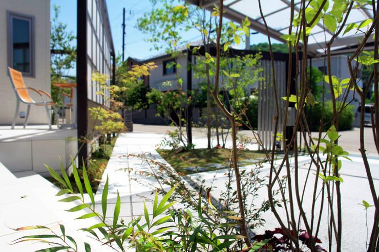 愉しく便利なふれあいの庭 2012~: にわいろSTYLEが手掛けた庭です。