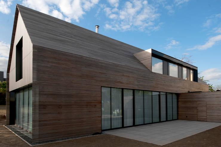 Terraços  por STEINMETZDEMEYER architectes urbanistes
