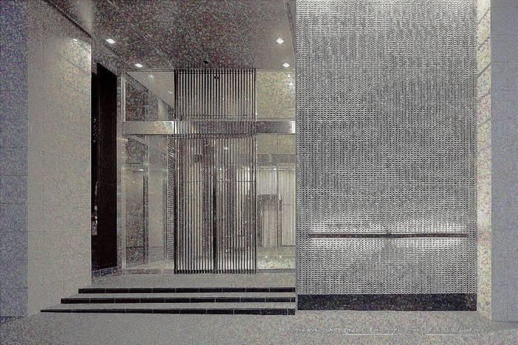 Porous model 1  walltype: 株式会社 虔山 が手掛けた壁です。,オリジナル