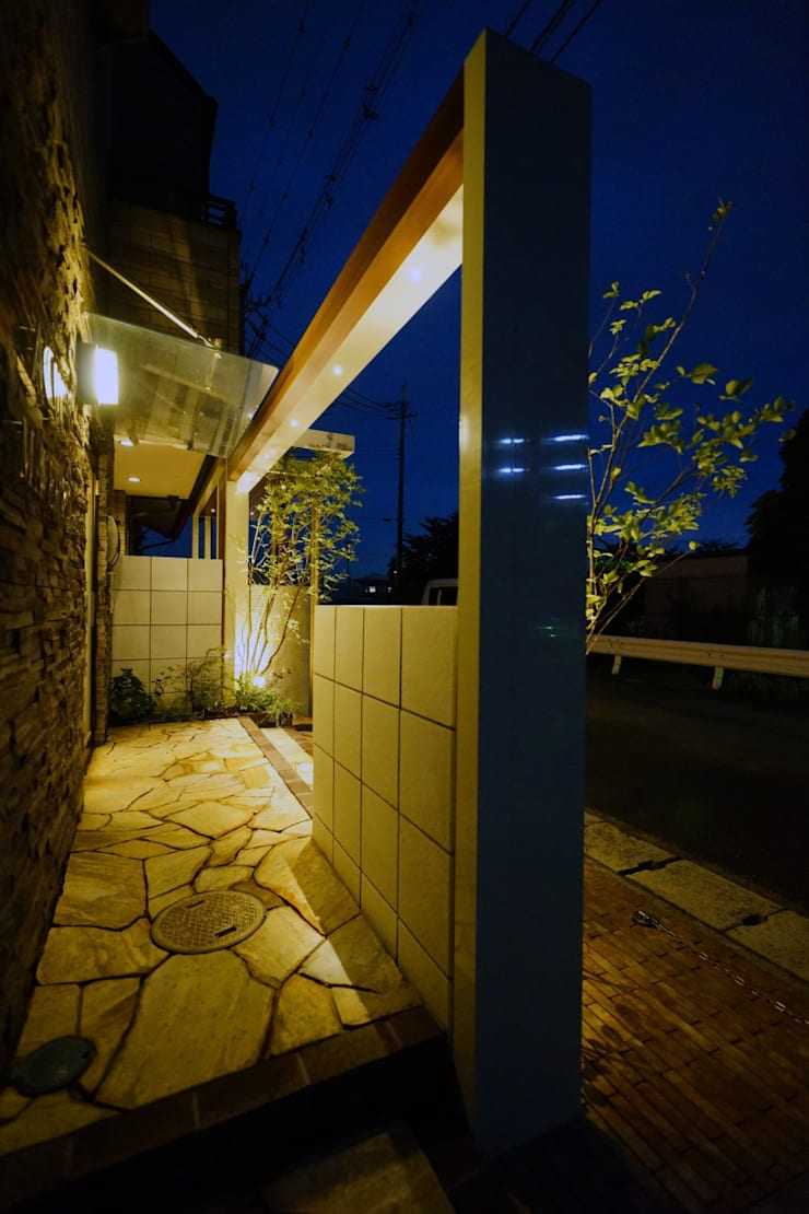 二つの入り口を着飾る庭 2014~: にわいろSTYLEが手掛けた庭です。