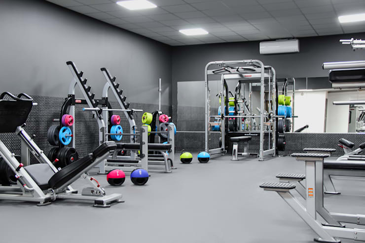 The Northwood Club - A boutique style gym:  Bars & clubs by Bhavin Taylor Design