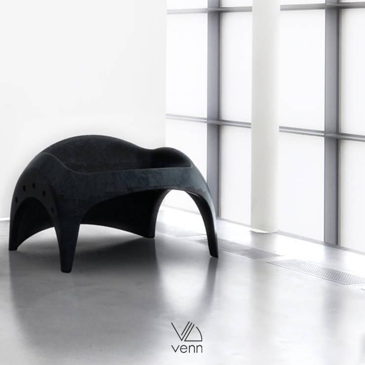 Venn Industrial Design Consultancy – Beton:  tarz Bahçe