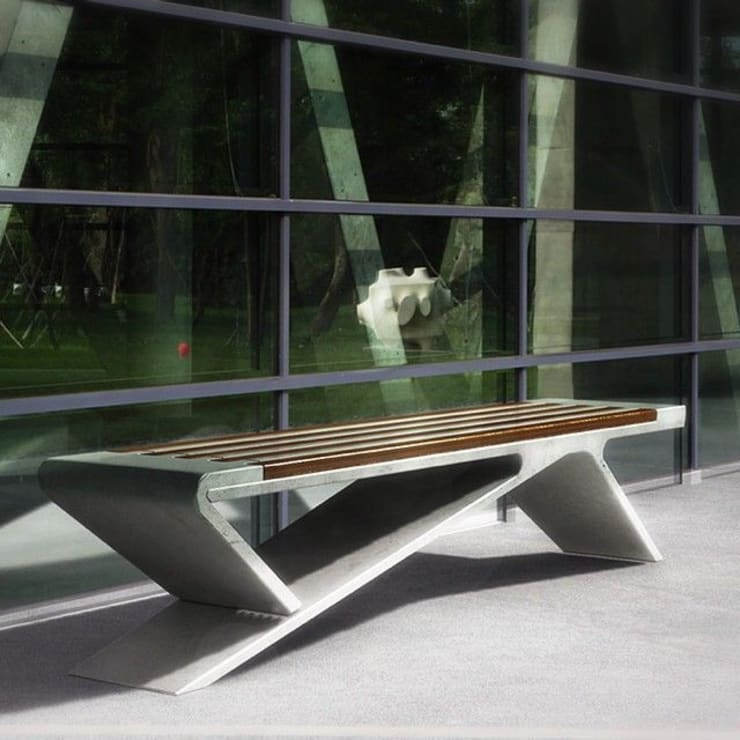 Venn Industrial Design Consultancy – Beton:  tarz Balkon, Veranda & Teras