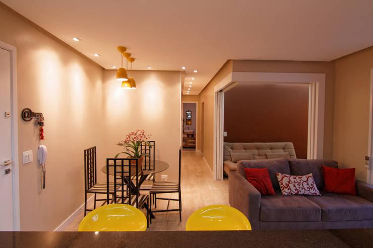 غرفة السفرة تنفيذ Raphael Civille Arquitetura