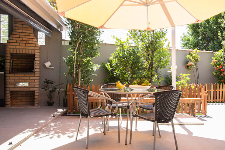 Residencia de Surfista: Jardins  por Marcos Contrera Arquitetura & Interiores,