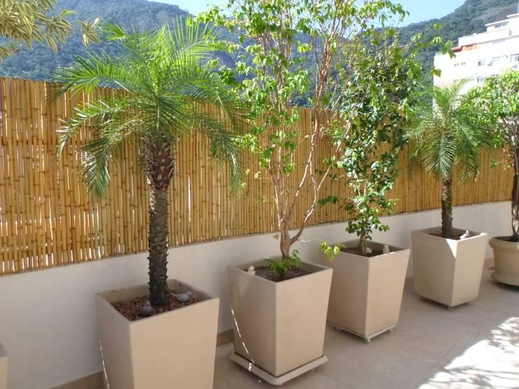 Terrazas de estilo  por Bambu Rei Eco-Design