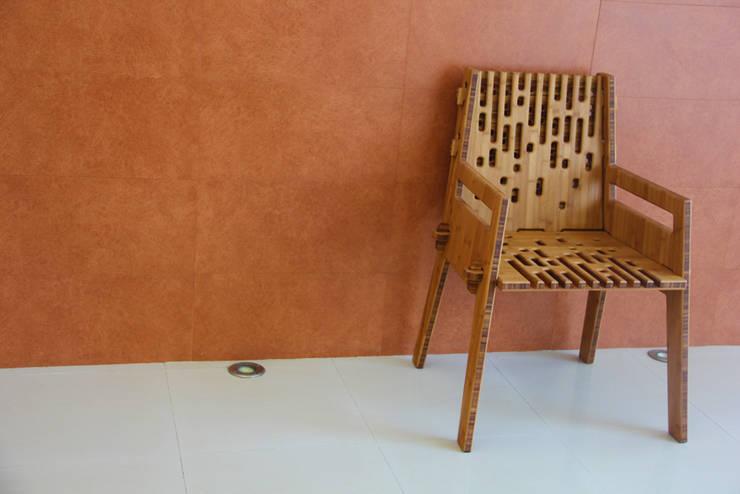 Silla Beat de Bambú que se arma en menos de 1 minuto de Wedgewood Furniture Moderno