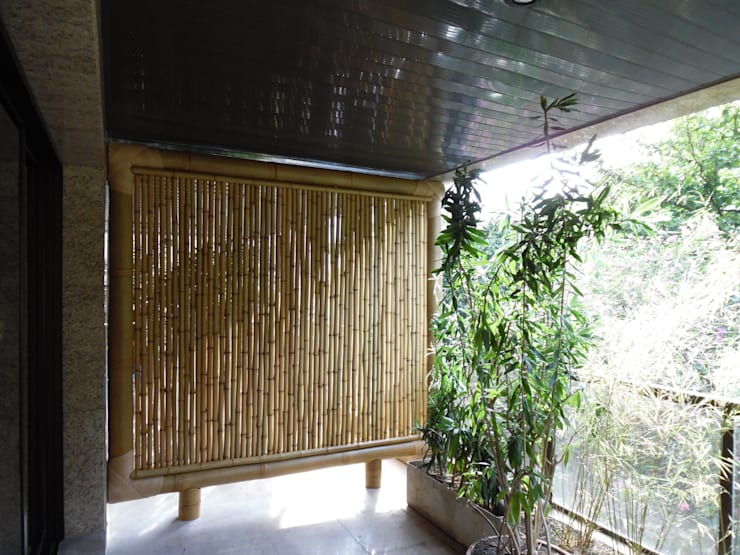 Terraços  por Bambu Rei Eco-Design