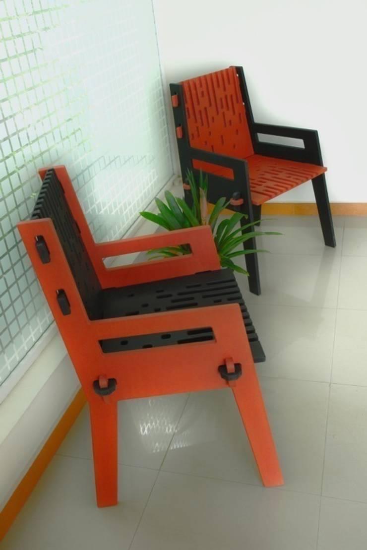 Silla Beat Valchromat de Wedgewood Furniture Moderno