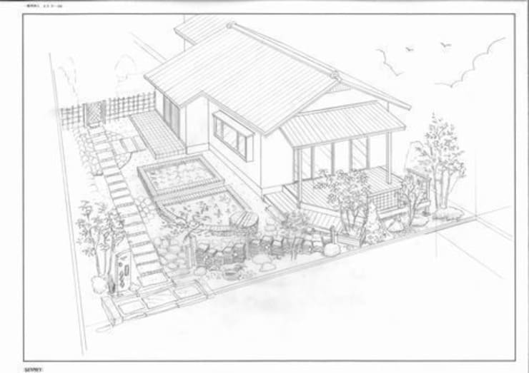 手描きイメージスケッチ: アーテック・にしかわ/アーテック一級建築士事務所が手掛けたです。