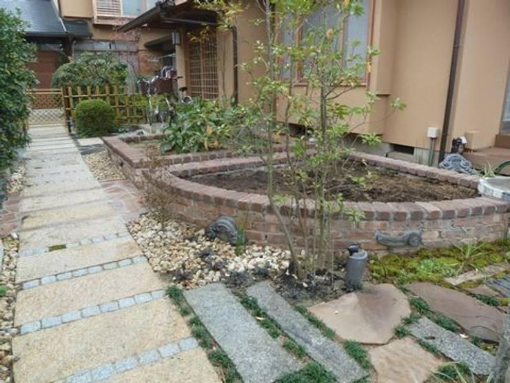 家庭菜園のスペースも確保: アーテック・にしかわ/アーテック一級建築士事務所が手掛けた庭です。