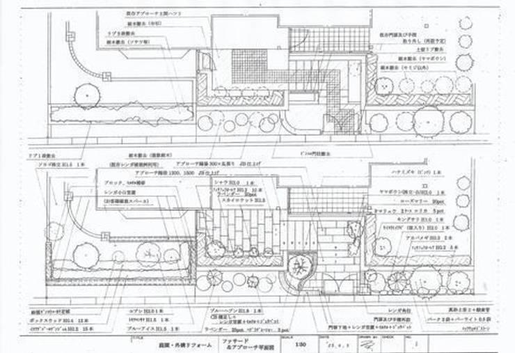 ファサード平面図: アーテック・にしかわ/アーテック一級建築士事務所が手掛けたです。