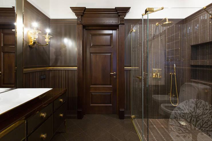 Двери дубовые межкомнатные с карнизом : Окна и двери в . Автор – Lesomodul
