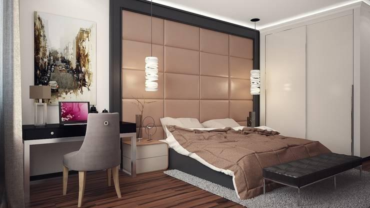 Спальня contemporary: Спальни в . Автор – VITTA-GROUP