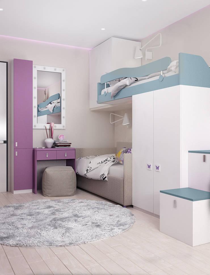 Детская: Детские комнаты в . Автор – VITTA-GROUP