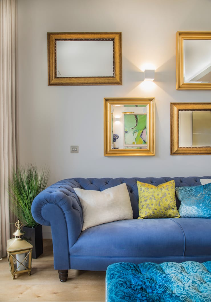 Argyll Place - Breakfast Room:  Living room by Jigsaw Interior Architecture