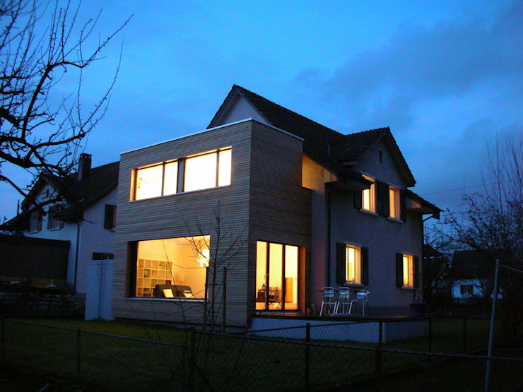 Projekty, nowoczesne Domy zaprojektowane przez 5 Architekten AG