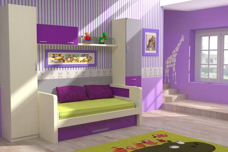 Nursery/kid's room by Muebles Parchis. Dormitorios Juveniles.