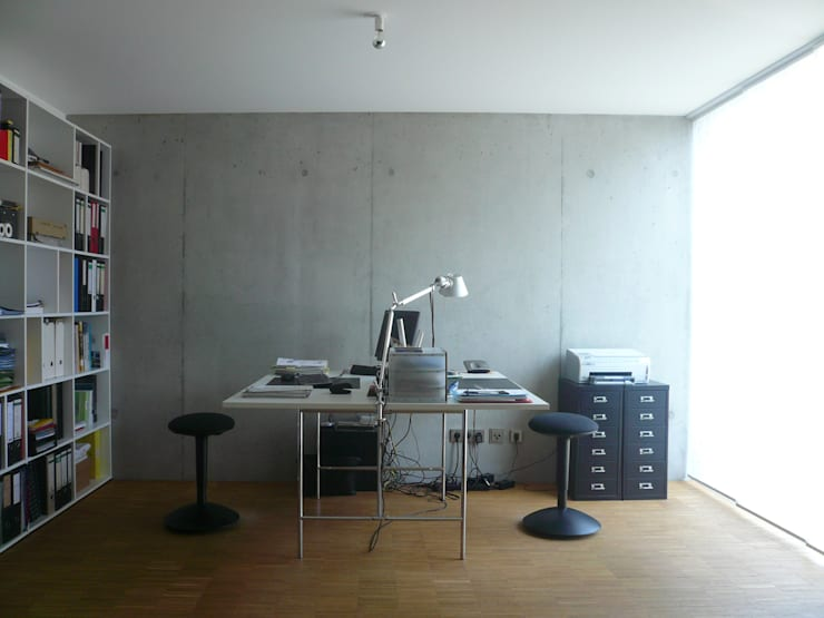Büro:  Multimedia-Raum von wilhelm und hovenbitzer und partner