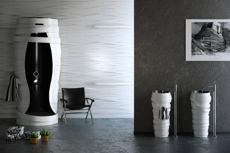 MYBATH TAPE: styl , w kategorii Łazienka zaprojektowany przez MyBath