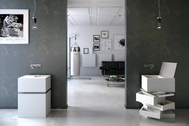 LEVELS  : styl , w kategorii Łazienka zaprojektowany przez MyBath