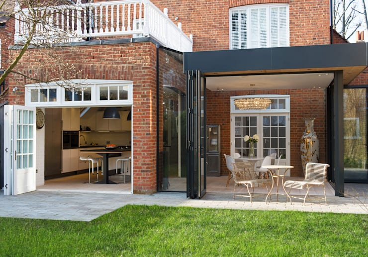 Addison Grove:  Houses by Hamilton King