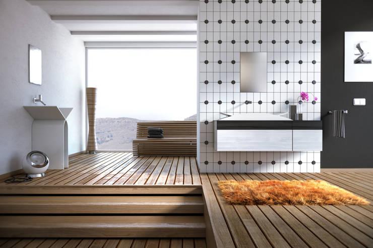 MYBATH SIMPLE: styl , w kategorii Łazienka zaprojektowany przez MyBath