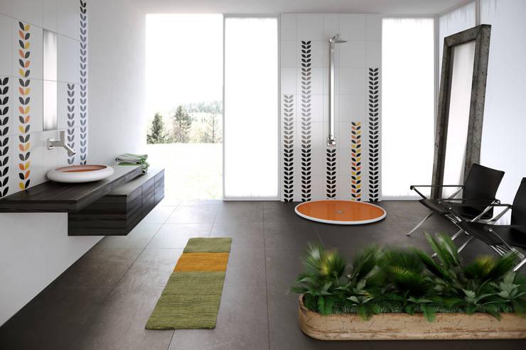 MYBATH FLOA & FIORI : styl , w kategorii Łazienka zaprojektowany przez MyBath