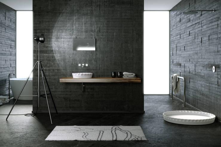 MYBATH KAPSEL : styl , w kategorii Łazienka zaprojektowany przez MyBath
