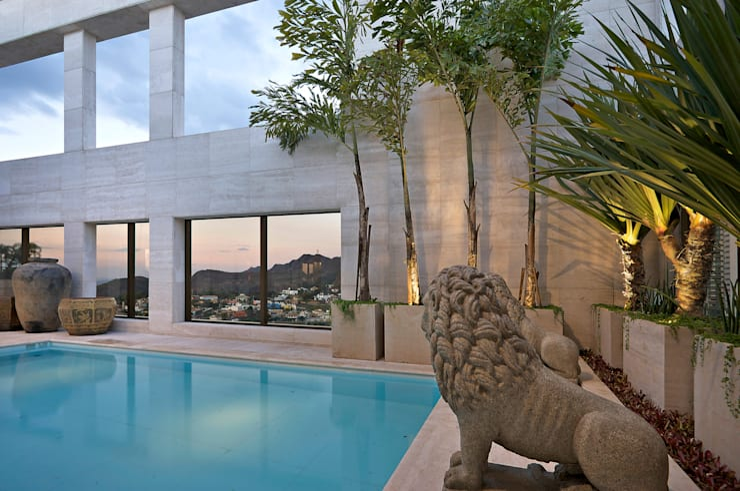 Cobertura Belvedere - Belo Horizonte - MG: Jardins  por CP Paisagismo