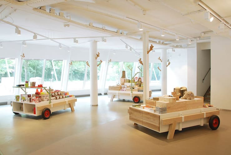 Exhibition centres by NAPSTUDIO, Modern