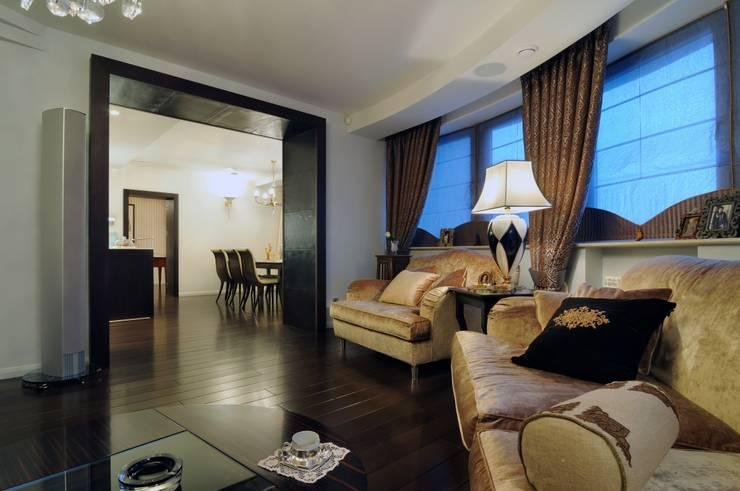 Квартира как номер-сьют в отеле.: Гостиная в . Автор – Меречко Людмила